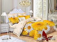 Комплект постельного белья из сатина семейный S-130