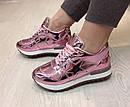 Подростковые модные весенние кроссовки размеры 35 36 , фото 3