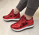 Женские модные весенние кроссовки размеры 36- 41, фото 3