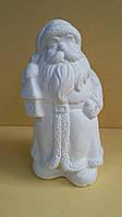 Дед Мороз из гипса под раскраску, выс. 13 см., 35 гр.