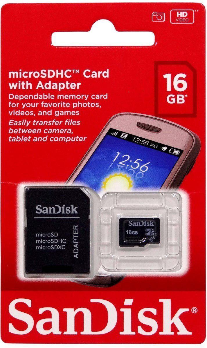 """Карта памяти SanDisk microSDHC class 10 UHS Mobile Ultra 16Gb - эконом-маркет """"Mobileo"""" в Львове"""