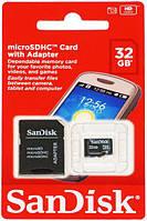 Карта памяти SanDisk microSDHC class 10 UHS Mobile Ultra 32Gb