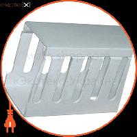 Enext Короб пластиковый перфорированный e.trunking.perf.stand.65.65, 65х65мм, 2м