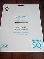 Защитная пленка глянцевая SGP Ultra Crystal для Apple iPad 2 3 4