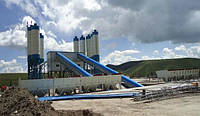 Стационарный бетонный завод HZS 240 CHANGLI БСУ, бетонный узел