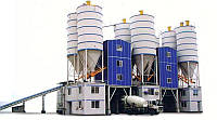 Стационарный бетонный завод HZS 180 CHANGLI