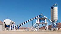 Бетонный завод с бункером для поставки инертных материалов HZS50