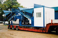 Мобильный бетонный завод Sumab K-80 Scandinavian & UK Machines