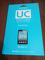 Защитная пленка глянцевая SGP Ultra Crystal для Apple iPad mini