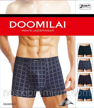 Мужские трусы боксеры Doomilai хлопок 02015