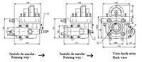 Коробка отбора мощности FHER ZF механика\пневматика