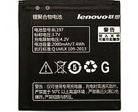 Аккумулятор к мобильному телефону Lenovo A820  BL197 original