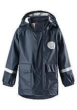 Демисезонный плащ-дождевик Reima Vihma для мальчика 521524-6980. Размеры 104 -128.