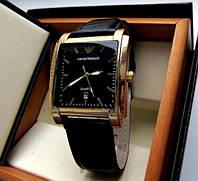 Кварцевые мужские часы EMPORIO ARMANI золото, магазин мужских часов, фото 1