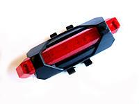 Габарит для велосипеда DC 918 с аккумулятором С встроенным аккумулятором. Красный
