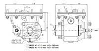 Коробка отбора мощности FHER Mack боковая, 8 отверстий
