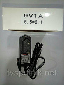 Блок живлення Prowest 9V 1ah (5.5х2.1 мм)