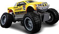 Автомодель на р/к Rock Crawler Jr. (батарейки в компл.), жёлто-чёрный