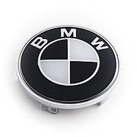 "Колпачки заглушки для литых дисков BMW  ""BLACK"""