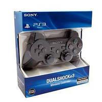 Беспроводной bluetooth джойстик PS3 SONY PlayStation 3 Оригинал Черный Black