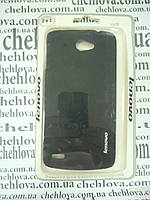 Чехол для Lenovo S920 Soft Touch (С матовой пленкой в комплекте) черный