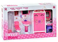 """Мебель для кукол """"Ванная комната-Sweet Home"""" (Китай)"""