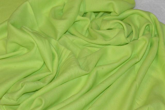 Палантин из кашемира однотонный салатовый Фото 3