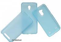 Florence силиконовый чехол-накладка для телефона ZTE L110 Blue