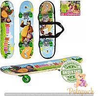 Детский скейт M0009 (60х15см)
