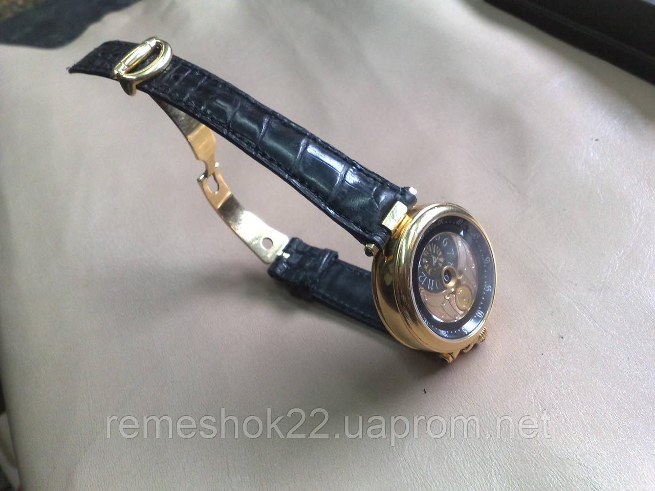 Заказать Ремешок из Крокодила для часов Bovet в Киеве от мастерской ... cd6c9f39e37a1