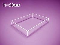 Акриловая коробка, контейнер 220х310х50мм, фото 1