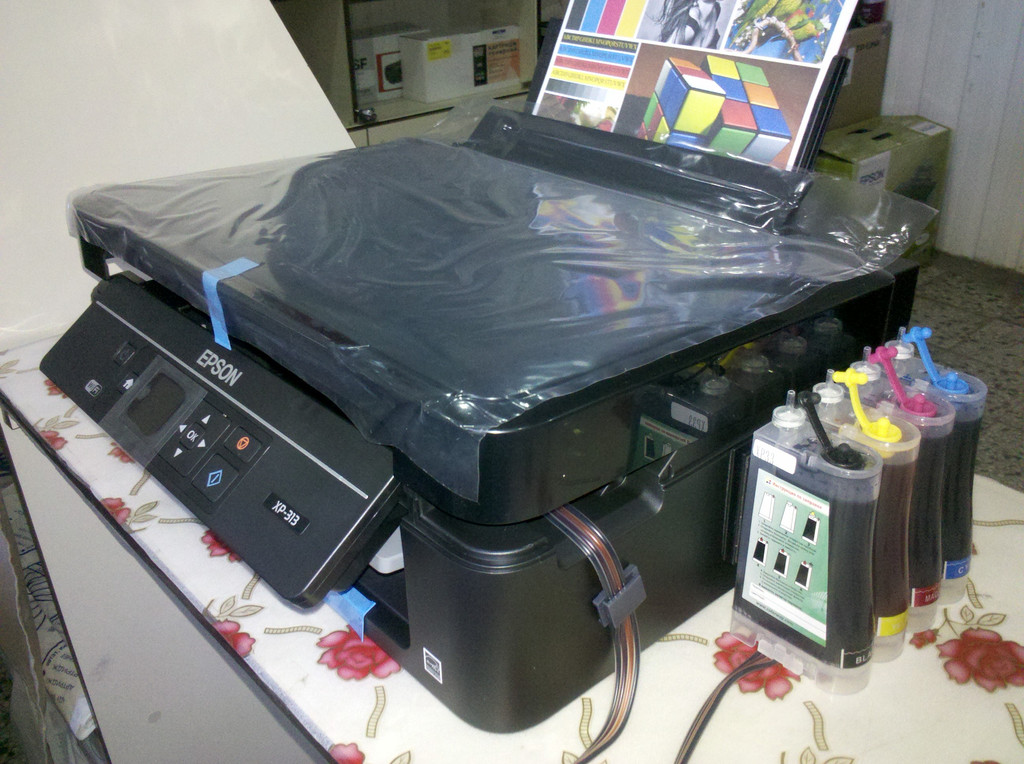 МФУ Epson Expression Home XP-313 WI-FI Black