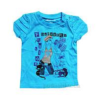 Футболка для девочки Gloria Jeans 49488 80