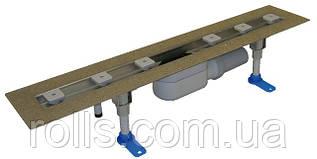 HL50F.0/80 Душевой лоток для линейного отведения воды с сифоном DN50, с материалом для монтажа (Австрия)