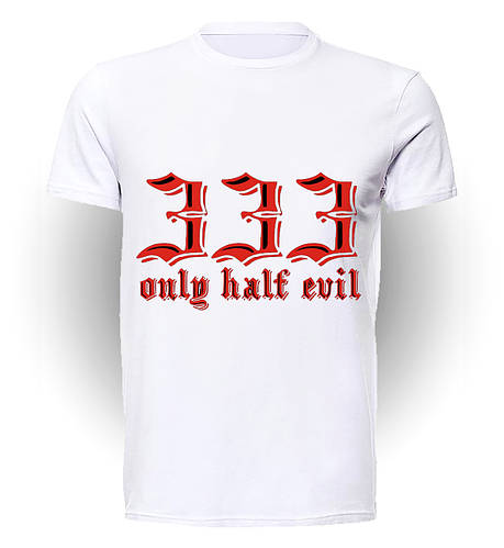 Футболка GeekLand Обитель Зла Resident Evil  Half Evil art RE.01.023