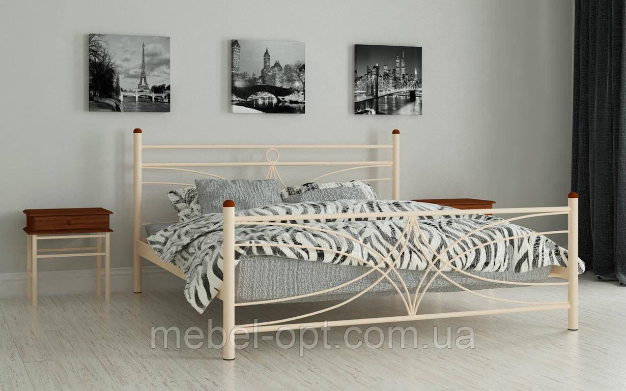Кровать Тиффани 140х190 см Полуторная кровать Мадера