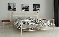 Кровать Тиффани 160х200 см Двуспальная металлическая кровать  Мадера