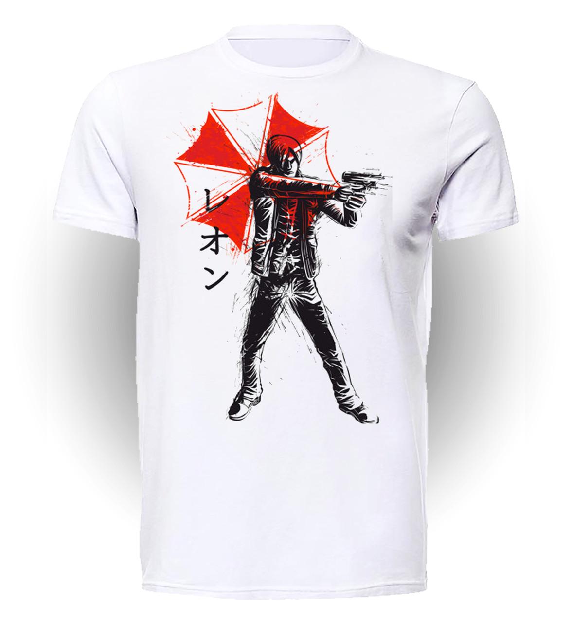 Футболка GeekLand Обитель Зла Resident Evil Leon art RE.01.033