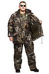 "Теплый зимний костюм из непромокаемой ткани Alova ""Бурый медведь"" до -30℃ размер 46, фото 2"