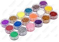 Песок для ногтей в баночке (в ассортименте)