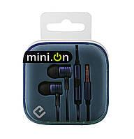 Наушники с микрофоном ERGO ES-600i Minion Blue