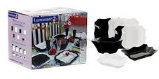 Столовый сервиз Luminarc Authentic Black&White 19 пред Е6195, фото 3