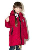 Удлиненная весенняя куртка для девочки.122-146р, фото 1