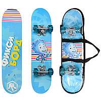 Детский скейт M0006 Фиксики (60х15см)