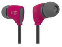 Наушники c микрофоном ERGO VM-110 Pink