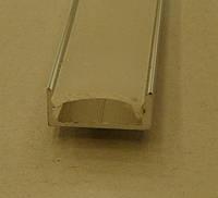 Алюминиевый профиль накладной стандартный для светодиодной ленты Biom (Аналог Feron CAB262)