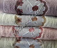 """Махровое лицевое полотенце """"Бантик"""", фото 1"""