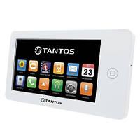 """Видеодомофон Tantos Neo GSM 7"""" (White) - экран 7 дюймов, запись на SD карту, датчик движения, GSM модуль"""