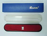 Футляр пластиковый для 1й ручки, 16см, красная подложка, Josef Otten