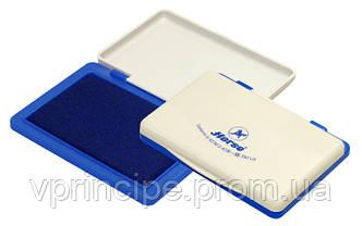 Штемпельная подушка  Horse №3  (70*100мм)   синяя